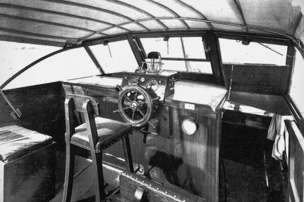 Pilothouse of a Wheeler