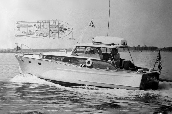 56' Promenade Deck Yacht