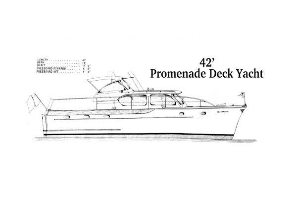 42' Promenade Deck Yacht