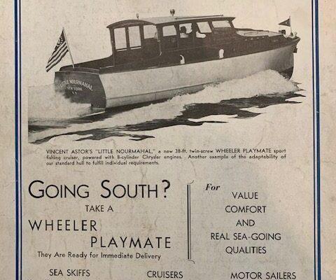 1944 Wheeler 38 Ad