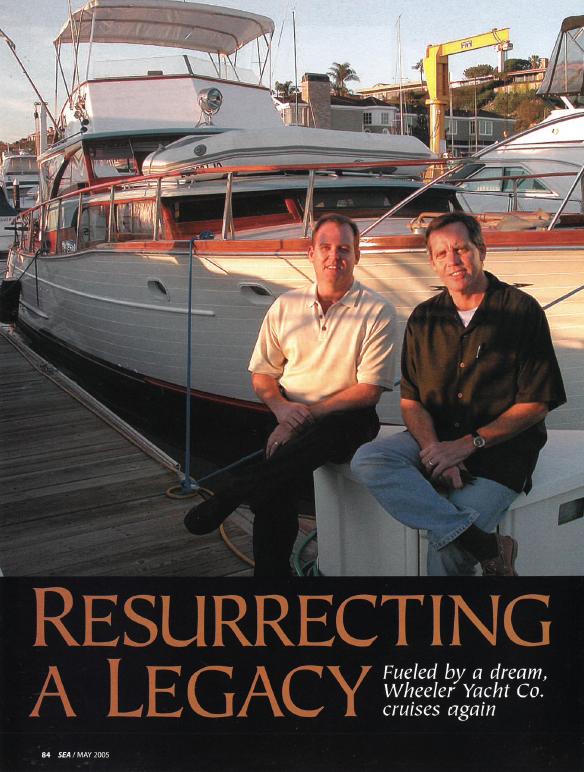 Resurrecting a Legacy: Fueled by a dream, Wheeler Yacht Co. cruises again