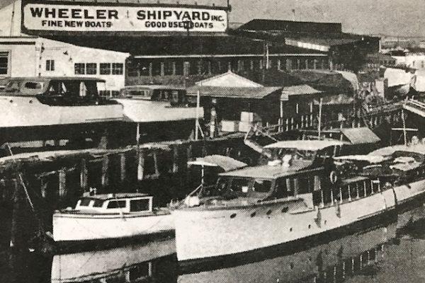 Wheeler Yacht Foot of Cropsey Brooklyn