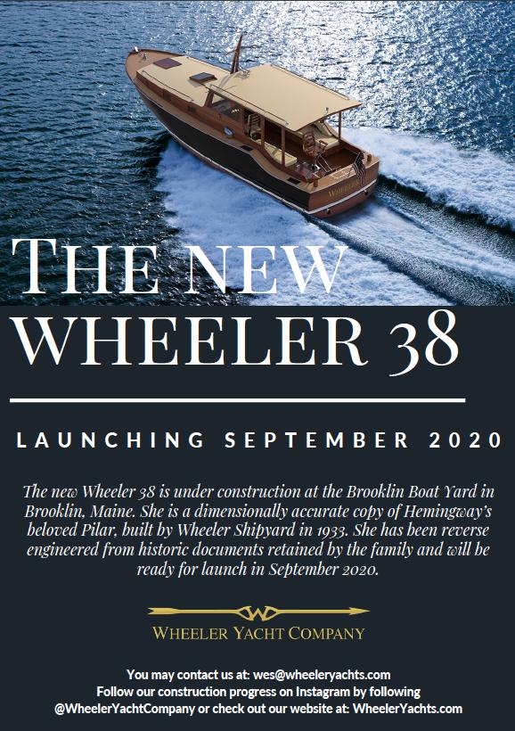 The New Wheeler 38 – Launching September 2020